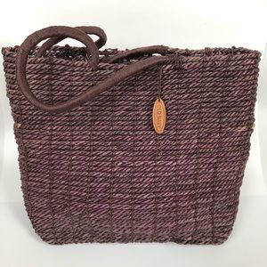 Old Navy Straw Tote $20